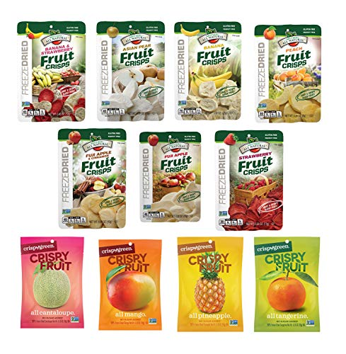 Freeze Dried Fruit Crisps Variety