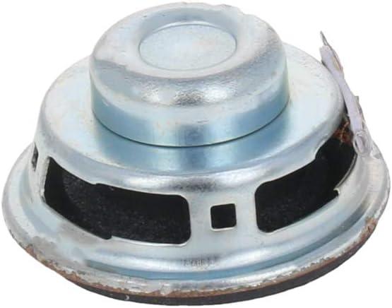 Fielect Magnet Speaker Internal Magnet Speaker Mini Speaker Metal Round 29mm Diameter 9mm Height 0.25W 8 Ohm 10Pcs