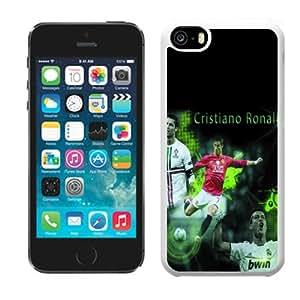 2014 hot football crazy fans DIY Cristiano Ronaldo plastic hard case skin cover for iPhone 5C AD138999