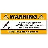GPS盗難防止ステッカー(自動車用) 再帰反射でよく目立つ GPS自動車