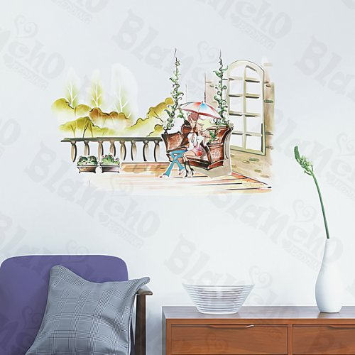 Garden Date - Large Wall Decals Stickers Appliques Home Decor Blancho Bedding 5937913