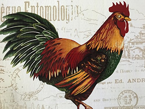 Rooster Placemat Set of 4