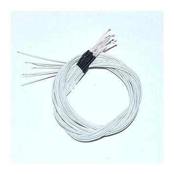20 Unidades/Lote 100K Ohm NTC 3950 Termistor con Cable para ...