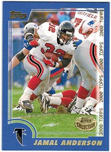 2000 Topps Collection Atlanta Falcons Team Set with Jamal Anderson & Tim Dwight - 8 ()