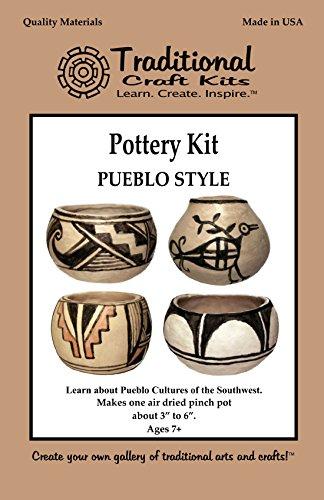Native American Pottery - Pueblo Style Pottery Kit