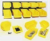 WallPeg Pegboard Bin Kit Pegboard Panel Parts Bin Storage Organizer