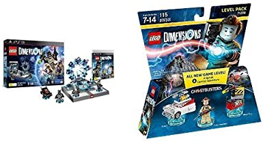 LEGO - Starter Pack Dimensions (PS3) + Level pack: Los Cazafantasmas, Peter Venkman: Amazon.es: Videojuegos
