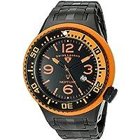 Swiss Legend Men's 'Neptune Force' Swiss Quartz Stainless Steel Casual Watch (Model: 21819P-BB-11-OBS)