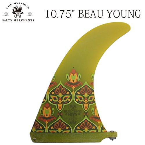 THE SALTY MERCHANTS フィン BEAU YOUNG 10.75 ロングボード用センターフィン   B010F3VA1E