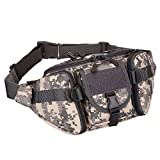 Best Waist Bag For Camping Running - SINAIRSOFT Tactical Waist Pack, Army Military Fanny Pack Review