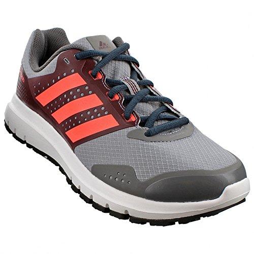 Adidas exterior Duramo Atr Trail Running Shoe, Granito / hierro metálico / Rojo choque, 5 M US Grey/Maroon/Flash Red