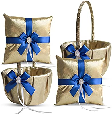 Amazon.com: RomanStore - Juego de cojines y cestas de flores ...