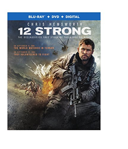 Blu-ray : 12 Strong (With DVD, Full Frame, Ultraviolet Digital Copy, Dolby, AC-3)