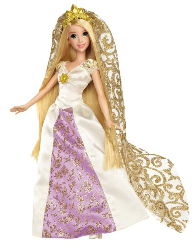 Disney Princess Rapunzel Bridal Doll