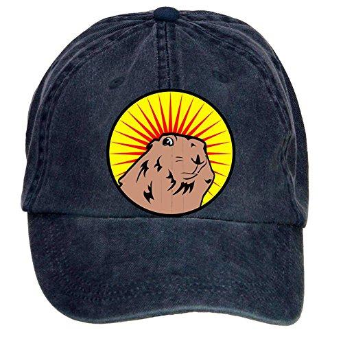 xingl-unisex-prairie-dog-dramatic-chipmunk-adjustable-washed-hat-baseball-caps