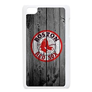 DIY phone case Boston Red Sox skin cover For Ipod Touch 4 SQ953596