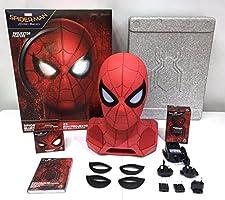 Marvel 761623 Altavoz Bluetooth Spiderman con proyector Rojo/Negro ...