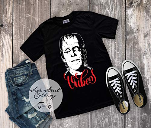 Iconic TV Character Vibes T shirt - baby, toddler, youth, women, men, goth, gothic, me, halloween, punk, baby's first halloween, funny, -