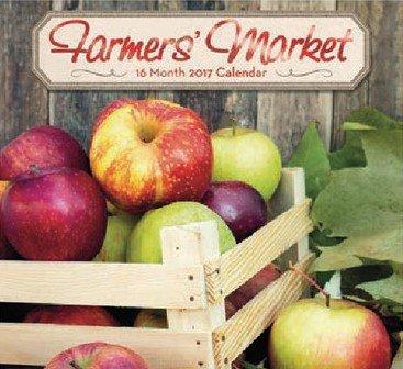 Farmer's Market Fruits and Vegetables 2017 Wall Calendar ...