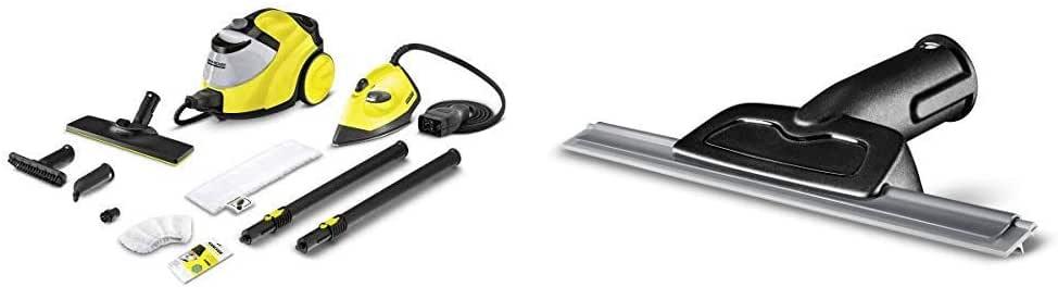 Kärcher Limpiadora de Vapor Manual SC 5 EasyFix + Kit Plancha (1.512-533.0) + Boquilla para limpieza de cristales (2.863-025.0): Amazon.es: Bricolaje y herramientas