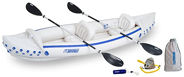 Sea Eagle SE370 Inflatable Sport Kayak Deluxe Package Review