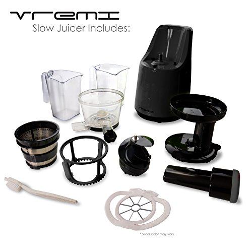 Vremi Slow Juicer Reviews : vREMI Slow Juicer - MenuCulture