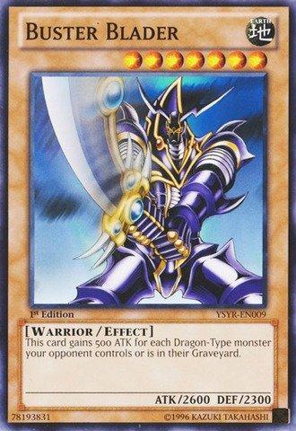 Yu-Gi-Oh! - Buster Blader (YSYR-EN009) - Starter Deck: Yugi Reloaded - 1st Edition - Common