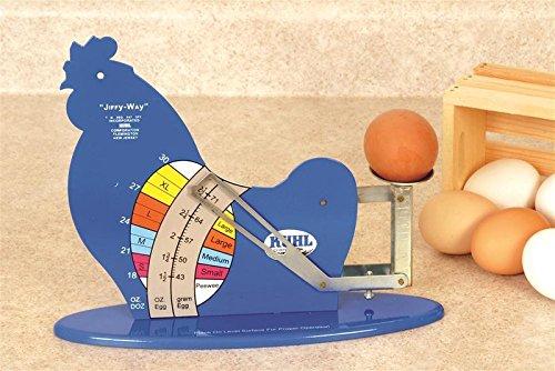 Kuhl JIFFY-III-12 Jiffy-Way Egg Grading Scale (Egg Scale Chicken)