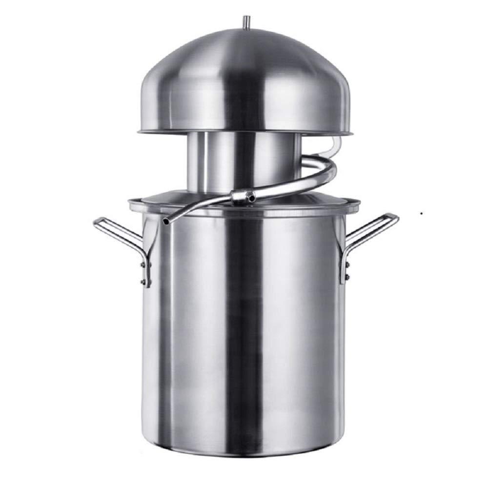 YUEWO Brewery anti-stick pot distillation steamer Tianmu essential oil machine pure dew machine 304 stainless steel volume 21L by YUEWO