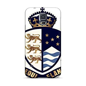 Samsung Galaxy S5 WXv10790BiPY Support Personal Customs High-definition Orphaned Land Band Image Durable Hard Phone Cover -CristinaKlengenberg