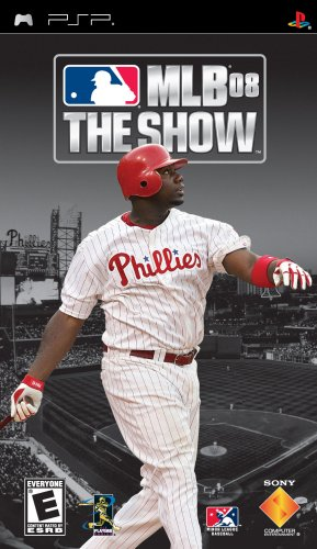 MLB 08 The Show - Sony PSP
