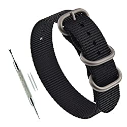 Image of the product 20mm Black Mens ZULU that is listed on the catalogue brand of MZMY.
