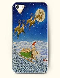 Merry Christmas Santa Claus Is Coming - OOFIT iPhone 4 4s Case