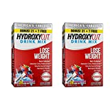 Hydroxycut Drink Mix Weight Loss Supplements, Wildberry Blast, 28 Count (Pack of 2)