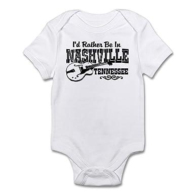7ae9c6789 Amazon.com  CafePress-Nashville Tennessee-Cute Infant Bodysuit Baby ...