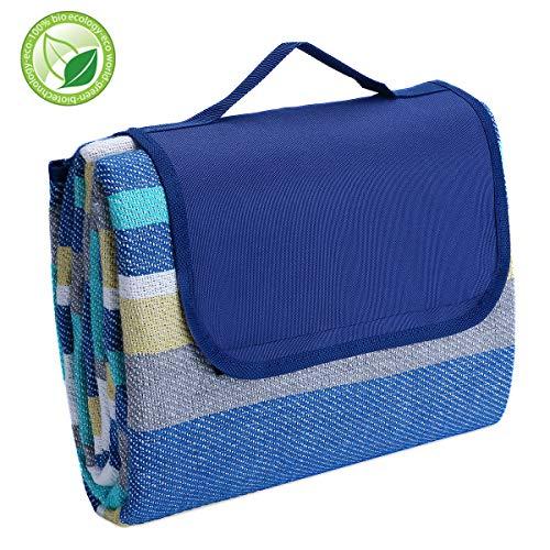KVOMAKE Picnic Blanket Waterproof Outdoor Blanket
