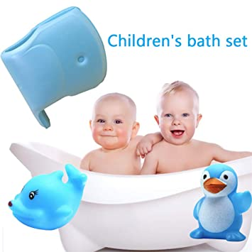 Universal Silicone Faucet Cover Spout Bathtub Baby Bath Safety Protector Toy