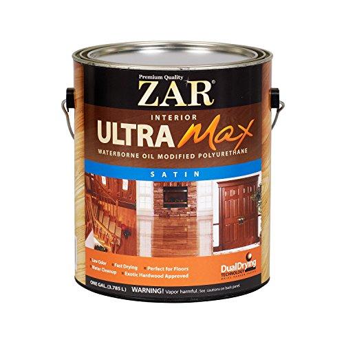 - UGL 36213 Zar Waterborne Oil Modified Polyurethane Interior, 1 Gallon, Satin