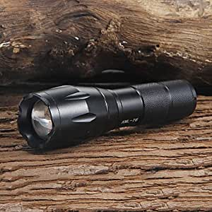 UltraFire A100 5-Mode XM-L T6 Zoom LED Flashlight (1000LM,1x18650/3xAAA)