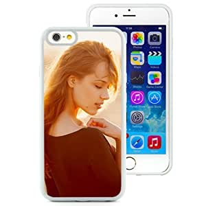 New Beautiful Custom Designed Cover Case For iPhone 6 4.7 Inch TPU With Shy Girl (2) Phone Case