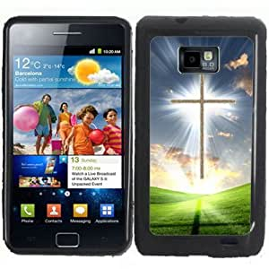 S2 Christian Cross Samsung Galaxy S2 / SII i9100 Case Cover