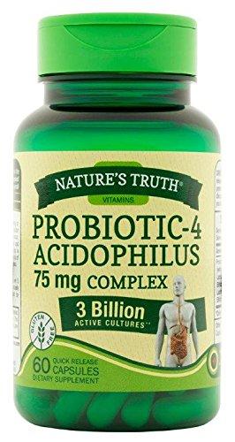Nature's Truth Probiotic 3 Billion Cultures, 60 Count