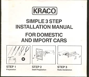 Kraco Auto Stereo Installation Manual 1970s-80s at Amazon's ... on