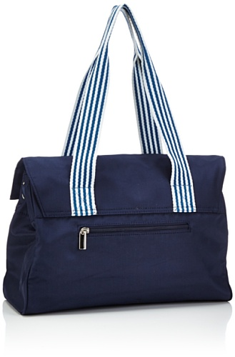 Sansibar Sambal - Bolso de mano de material sintético mujer azul - Blau (navy)