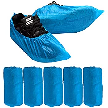 Garden Indoor and Outdoor Activities. WANBAO Disposable Shoe Covers 100 Pack Disposable Anti Slip Boot Cover for Home