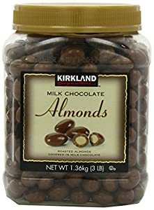 Kirkland Signature Milk Chocolate, Almonds, 48 oz [fphow]