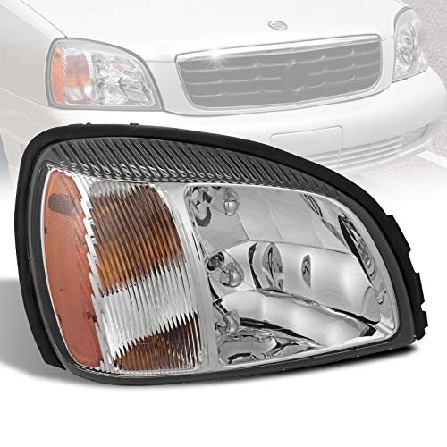 (For 2000-2005 Deville Right/Passenger Side Headlight Front Lamp Replacement RH 2001 2002 2003)