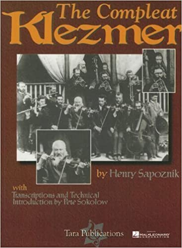 COMPLEAT KLEZMER BOOK CD by Hal Leonard Corp. (1998)