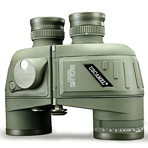 USCAMEL 10x50 Binoculars, Waterproof Anti-fog Rangefinder Co