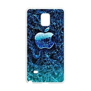 DIY Samsung Galaxy Note 4 Case, Zyoux Custom Cheap Samsung Galaxy Note 4 Cell Phone Case - Mobile Apple logo